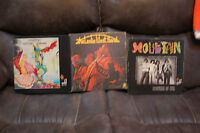 MOUNTAIN and LESLIE WEST BAND (3 Albums) NANTUCKET SLEIGHRIDE, FLOWERS OF EVIL