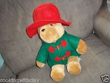 PLUSH DOLL FIGURE VINTAGE SEARS PADDINGTON BEAR STUFFED ANIMAL TOY