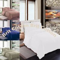 LUXURY 100% EGYPTIAN COTTON FITTED SHEET 200 THREAD COUNT SHEETS ALL SIZES