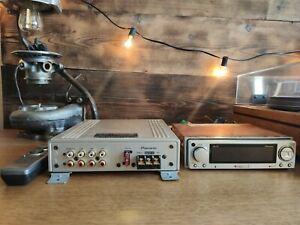 Carrozzeria Pioneer DEX-P01 + DEQ-P01