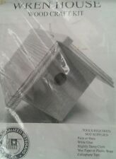 Wren Bird House New in Package w Instructions Wood Craft Kit