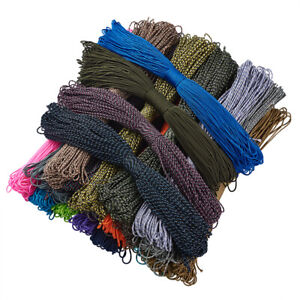 100m Polyester Spandex Cord Ropes Spandex Accessory Thread For Climbing Rope 2mm