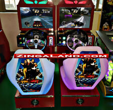 Kids Outrun Simulator Arcade Racing Car Game Commercial Coin Operated 2 Player