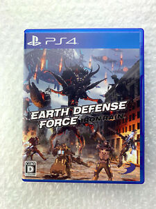 """Earth Defense Force Iron Rain """"Good Condition""""  Playstation 4 Sony PS4 Japan"""