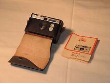 Kodak Instamatic 50 Camera Sucher-Kamera incl. Tasche Vintage 1960s Leather Case