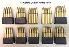 WWII M1 Garand En Bloc & Dummy Ammo Fillers - Belt Pack (10)