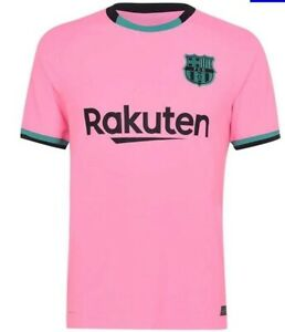 FC Barcelona 15 Set of Soccer Team Uniform 2020-21 Third Kit
