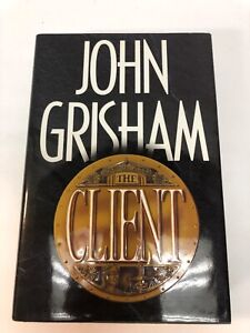 John Grisham the Client SIGNED, Personalized