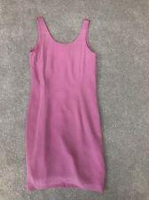 Kaliko Size 10 Purple Pink 100% Silk Shift Dress
