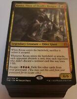 Complete Red Black KROXA Commander Deck | 100 Card | Magic the Gathering EDH