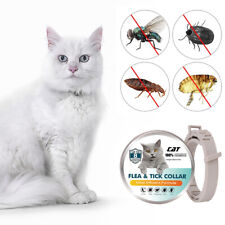 Flea Collar for Cats 8-month Flea and Tick Prevention for Cats 3 Months UK F6K2
