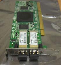 Qlogic QLA2462 4 Gbps PCI-X Dual FC Fibre Channel Host Bus Adaptateur Carte