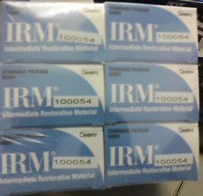 IRM POWDER & LIQUID BLUE BOX DENTSPLY IVORY 6 PACK 9-2019