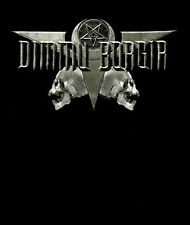 DIMMU BORGIR cd lgo DEATH CULT LEGION 666 Official SHIRT MED New oop