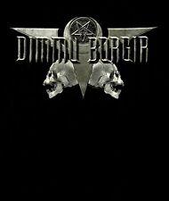 DIMMU BORGIR cd lgo DEATH CULT LEGION 666 Official SHIRT MED New oop