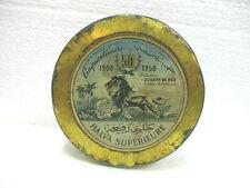 Ancienne boite en tôle lithographiée HALVA SUPERIEURE (1908 / 1958)