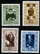 Liechtenstein Stamps # 266-9 MNH VF Scott Value $75.00