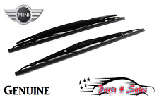 "GENUINE Mini R50 R52 R55 Cooper OEM Wiper Blade Front Set 18""/19"" 61610028137"