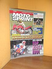 MotoSprint - n° 50 - 11/17 Dicembre 1991 - Yamaha XJ 600 S Diversion - Rivista