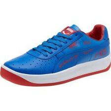 Puma Men's GV Special Detroit Leather Sneakers Blue/Red/White Size 10