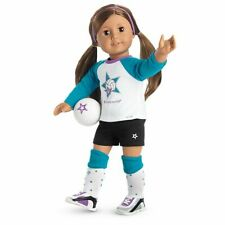 💕American Girl Doll Star Player Volleyball Outfit only 1 NIB 7 Pieces NetBall💕