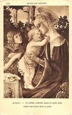BF40606 botticelli l enfant jesus et saint jean vierges virgin holly lady