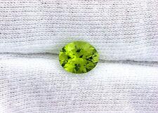 10x8 Natural San Carlos Aizona Apple Green Peridot Oval Gemstone Gem Stone