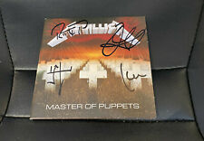 METALLICA MASTER OF PUPPETS SIGNED AUTOGRAPHED CD ALBUM