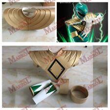 Power Green Ranger Shoulder Armor with Arm Bands EVA Handmade Cosplay Prop