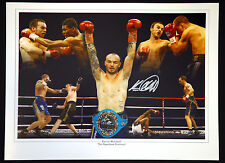 *New*  Kevin Mitchell Signed 12x16  Boxing Montage Photograph