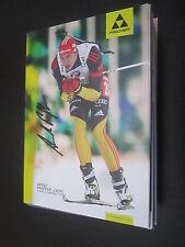 37546 Arndt Peiffer Biathlon original signierte Autogrammkarte