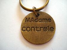 PORTE CLES HUMOUR BRICOLAGE MONSIEUR BRICOLE MADAME CONTROLE
