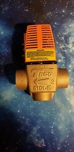 "Taco 5101-G2 Threaded 2-Way Geothermal Zone Valve 3/4"""