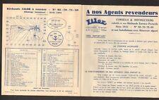 """PARIS (XIX°) USINE de RECHAUD à GAZ de PETROLE LILOR """"LIOTARD Freres"""" en 1933"""
