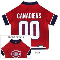 Montreal Canadiens NHL Pets First Licensed Dog Pet Hockey Jersey Sizes XS-XL