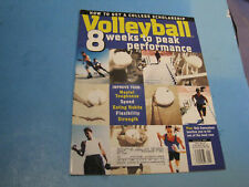 Volleyball Magazine JANUARY 1997 GET COLLEGE SCHOLARSHIP BACK ROW HIT INSHAPE4b5