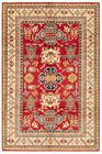 """Vintage Hand-Knotted Carpet 5'11"""" x 8'11"""" Traditional Oriental Wool Area Rug"""