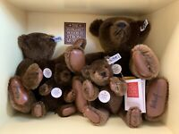 Steiff Margaret Strong Bears USA Collector's Edition 1983 Complete Signed MINT