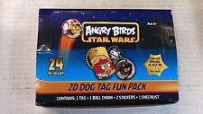 ANGRY BIRDS / STAR WARS - 24 PACK - 2D DOG DAG FUN PACKS / BOX