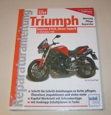 Reparaturanleitung Triumph Daytona 675/R , Street Triple/R  - ab 2006!