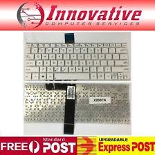 BRAND NEW Keyboard for Asus VivoBook X200 X201 X201E X202 X202E S200 S200E White