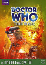 Doctor Who Terror of the Zygons (Dvd 2013, 2-Disc Set) Tom Baker Free Shipping
