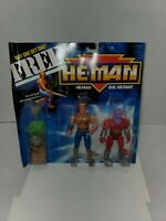 NEW MOTU,HE-MAN & EVIL MUTANT New Adventures,,sealed,Masters of the Universe