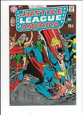 Justice League of America #74 1969 Larry Lance dies! Black Canary joins