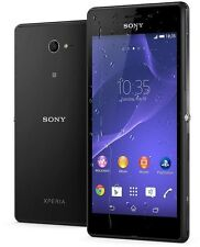 Sony Xperia M2 Aqua D2403 Black 4G LTE Android 8MP Smartphone Unlocked Faulty