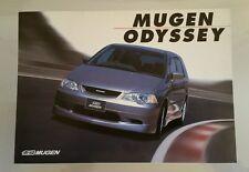 2000 Honda Odyssey Mugen Performance Catalog Brochure