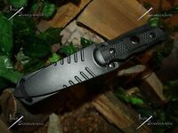 Survivor/Belt/Boot/Leg/Neck/Knife/Full tang/Ultra Concealable/Survival/Combat/BK