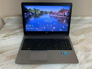 "HP ProBook 650 G1 Laptop 15.6"" Intel Core i5 500GB SSD 12GB Ram W10 Pro"