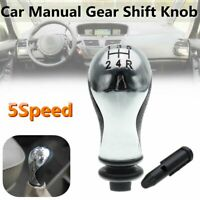 For Citroen C5 01-08 Xsara Picasso 99-10 5Speed Black&Silver Car Gear Shift Knob