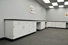 22' x 15' Base Fisher American Laboratory Cabinets.